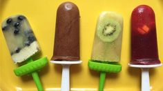 Popsicles for breakfast? It's possible with these superfood ice pops!