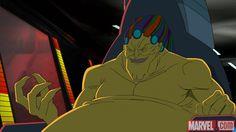 Mojo menaces Earth's Mightiest Heroes in Marvel's Avengers Assemble - Mojo World Marvel Villains, Marvel Heroes, Marvel Characters, Marvel Dc, Marvel Comics, Fictional Characters, Marvel Animation, Marvel Show, Marvel Avengers Assemble