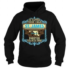 I Love St. James in Maryland T-Shirts