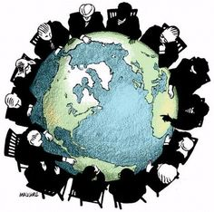 Globalization is growth to a global or worldwide scale, the bringing together of economics and societies from all around the world.