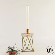 Sfesnic | Suport lumanare CRACIUN geometric - C113 – YaU concept Christmas Decorations, Concept, Candles, Ornaments, Metal, Modern, Geometry, Trendy Tree, Candy