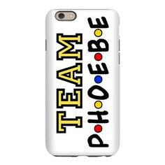 Team Phoebe Friends iPhone 6 Slim Case. Phoebe Buffay, my favorite quirky character from Friends TV show.