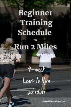 Get started with running with this 4-week learn to run schedule. #startrunning #beginnerrunner Running Pace Chart, Running Schedule, Running Challenge, Running Plan, Workout Schedule, Running Workouts, Running Tips, Trail Running, Weekly Workouts
