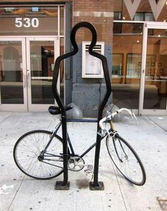 For The Love of Bicycles: Cool Bike Racks