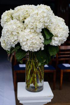Nautical Hamptons Wedding from Amaranth Photography - wedding ceremony flower idea