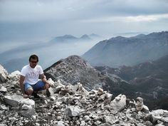 I am on top of the Sveti Jure (1762 m)