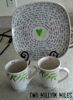 Personal wedding gifts
