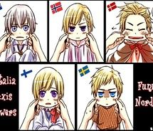 hetalia nordics baby | ... baby pictures i found when rummaging through the attic baby pictures