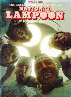 National Lampoon Magazine, American Humor, Magazin Covers, Comic Poster, Newspaper Headlines, National Lampoons, Pulp Art, Funny Art, Comic Covers