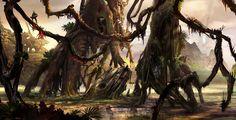 2D Art: Alien Planet Crash - 2D Digital, Concept art, Scenery/LandscapesCoolvibe – Digital Art