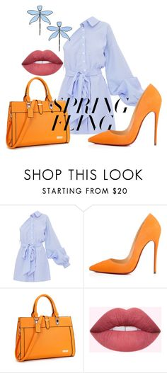 """""""Untitled #196"""" by ivorylovee on Polyvore featuring Christian Louboutin, Tory Burch and springdresses"""