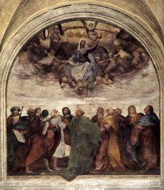 Rosso Fiorentino. Assumption of the Virgin. 1517.