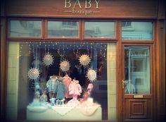 Earlier Nov 2012 main Baby boutique window display