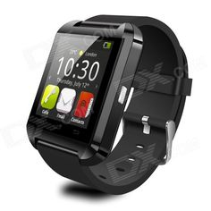 """Uwatch U8 Wearable 1.48"""" Touch Screen Smart Watch w/ Bluetooth / Pedometer - Black From 39,95 for Euro 27,50"""