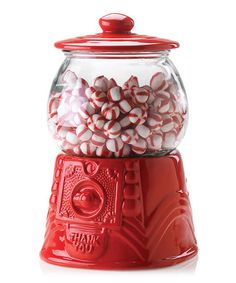 Another great find on #zulily! Red Gumball/Cookie Jar #zulilyfinds