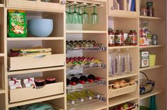 Take the guesswork out of kitchen pantry storage with these affordable and efficient pantry organizers.