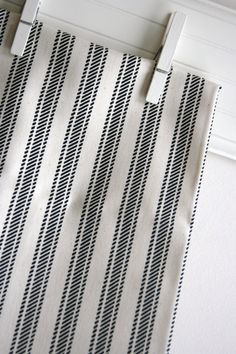Onyx Natural in Hayes Home Decor Weight Fabric by SewFineFabric, $11.50