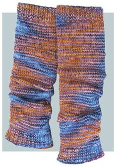 Leggings  - 2 Skeins (300 Yds) to knit in worsted weight yarn - some other color, though