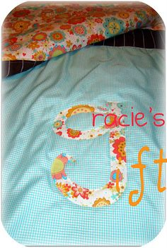 Gracie's baby quilt