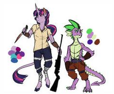 The next upload for the Infected!AU, this time featuring Rarity and Sweetie Belle! In contrast to Twilight, these two's clothes are far more pr.AU: Rarity and Sweetie Belle My Little Pony Comic, My Little Pony Drawing, Mlp Twilight, Twilight Sparkle, Cartoon Drawings, My Drawings, Character Creation, Character Design, Mlp Unicorn