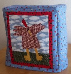 Kitchenaid Mixer Cover  Funky Chicken by PatsysPatchwork on Etsy, $30.00