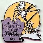 Disney Pin Jack & Zero Nightmare Before XMas Countdown To Millennium #72
