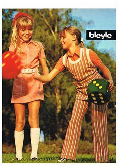 Bleyle 1970's vintage reclame