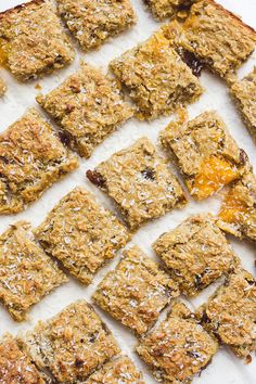 Coconut and Mango Oat Breakfast bites. No refined sugar. Great for BLW (baby-led weaning)