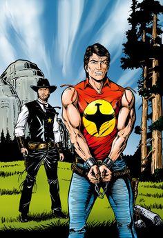 AJ Design – Freehand Drawings #zagor #illustration #comic #handdrawn #superhero