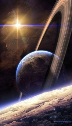 Image represents a futuristic feeling or mood associated with the relaxing and healing aura of our universe