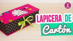 Lapicera de Cartón ✄   DIY Estuche para Lápices Sin Coser   REGRESO A CL...