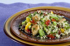 Couscous-salade: een Marokkaans feestje en havermoutsmoothie