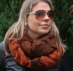 A personal favourite from my Etsy shop https://www.etsy.com/uk/listing/503699591/knit-infinity-scarf-womens-scarf-circle
