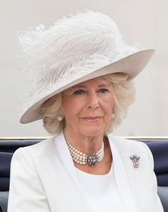 Camilla, Duchess of Cornwall during the Trooping the Colour, this year marking the Queen's birthday at The Mall on June 2016 in London, England. The ceremony is Queen Elizabeth II's annual. Get premium, high resolution news photos at Getty Images Camilla Duchess Of Cornwall, Duchess Of Cambridge, Windsor, Queen's Official Birthday, Queen 90th Birthday, Camilla Parker Bowles, Elisabeth Ii, Glamour, Herzog