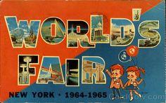 World's Fair Postcard - 1964