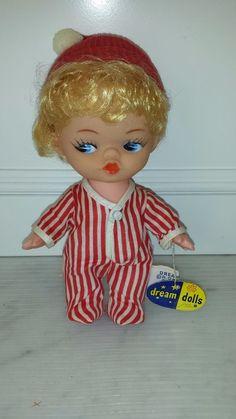 1966 Vintage R Dakin San Francisco Dream Doll No. 682 Holiday Miss P. J. DRESSED in Toys & Hobbies, Stuffed Animals, Dakin | eBay