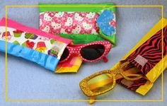 DIY Sunglass Case or Case for Glasses using Duct Tape - easy duct tape crafts for all ages