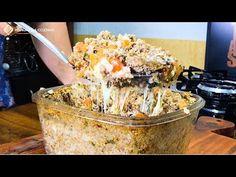 QUIBE DE FORNO SUPER RECHEADO   MANUAL DA COZINHA - YouTube