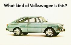Volkswagen Fastback Postcard | Flickr - Photo Sharing!