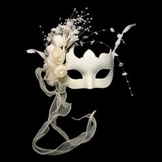No masquerade ball is complete without some beautiful masquerade masks to go with it.  Whether you are dressing up for your school prom or homecoming or just having a great mardi gras or carnival party to celebrate, you can't go wrong with our great selection of venetian masks, masquerade half masks, deluxe metal half masks or any of our full face masquerade masks.  $28.49
