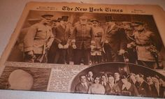 The New York Times Rotogravure Part 5 Sunday July 1 1917 Gerneral Pershing