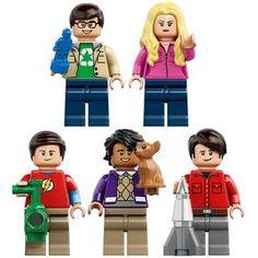 [Lego: The Big Bang Theory (Product Image)] Big Bang Theory, Legos, Bigbang, Star Wars, Batman, Textiles, Fun, Image, Lego