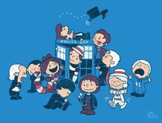 Dr. Peanut meets Doctor Who. <3 :D