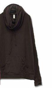 Amazon.co.jp: [アンドイット] and it_ 首ながドロストロングプルパーカー [ M / 52.ダークブラウン ]: 服&ファッション小物通販