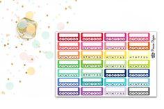 Planner Stickers Stackable Habit Tracker for your Erin Condren Life Planner…