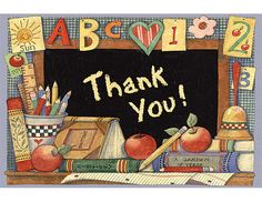 Thank You Postcards from Susan Winget