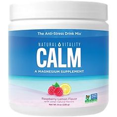Natural Vitality Brand Products | The Vitamin Shoppe Magnesium Sources, Magnesium Supplements, Magnesium Drink, Calcium Magnesium, Calm Magnesium Powder, Healthy Beans, Natural Calm, Anti Stress