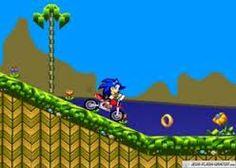 Sonic Course en Scooter