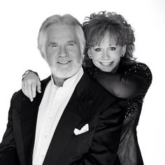 Kenny Rogers and Reba McEntire -- two of the best.