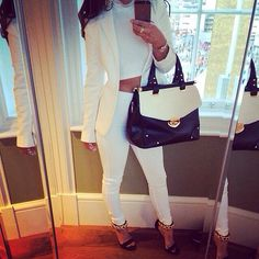 I love an all white outfit